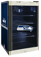 Glaros NFL 4 6 cu  ft  Beverage center Seattle Seahawks
