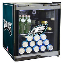 Glaros NFL 1 8 cu  ft  Beverage Center Philadelphia Eagles