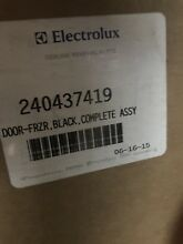240437419 Freezer Door Black
