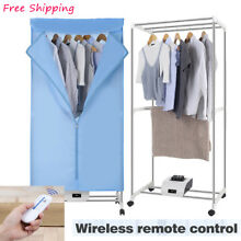 Finether Electric Clothes Dryer Portable Wardrobe Machine drying Remote Control