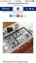 GE Profile Gas Cooktop  matching oven microwave combo available