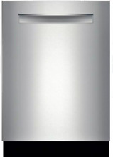 Bosch SHP68TL5UC 800 DLX Series 24 Inch Dishwasher Stainless Steel