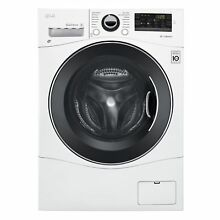 LG WM3488HW 2 3 cu ft  Compact All In One Washer Dryer in White