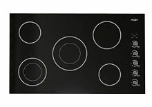 Ancona Select Ceramic 36  Electric Cooktop with 5 Burners