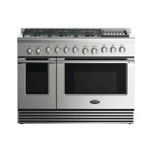 48  GAS RANGE6 BURNERS WITH GRILL
