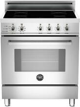 Bertazzoni Pro Series PRO304INSX 30  Induction Range in Stainless