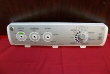 GE Washer Control Panel 175D5540 WH42X10897 GTWN4950LOWS JL65