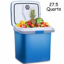 Portable Fridge Cooler and Warmer 27 5 Quarts Electric Mini Thermoelectric Dual