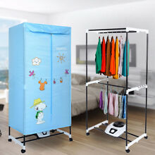 110V 1000W Electric Clothes Dryer Heater Folding Drying Wardrobe Machine