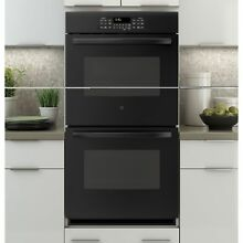 GE Black 27 inch Built in Double Wall Oven