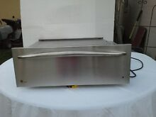 GE PROFILE 30  TEMPATURE CONTROL STAINLESS WARMING DRAWER JTD915SK3SS