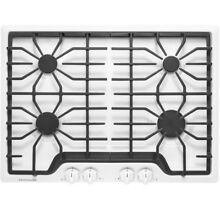 Frigidaire FFGC3026SW 30  Gas Sealed Burner White Cooktop