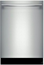 Bosch SHX7PT55UC Benchmark Series 24 Inch Dishwasher in Stainless Steel