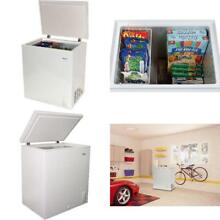 Chest Deep Freezer 5 0 cu ft Small Size Compact Home Dorm Apartment White NEW