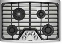Electrolux 30  4 Burners Flex 2 Fit Continuous Grates SS Gas Cooktop EW30GC55GS