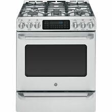 GE Cafe Series 30 inch Free Standing Dual Fuel Range with Baking Drawer