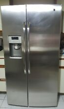 General Electric Stainless Steel Refrigerator Side by side