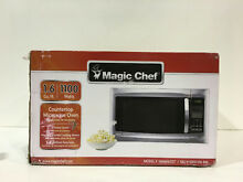 Magic Chef HMM1611ST 1 6 cu  ft  Countertop Microwave in Stainless Steel New