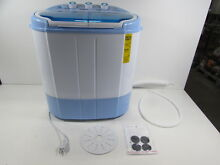 Pyle Electric Portable Washing Machine   Spin Dryer   PUCWM22