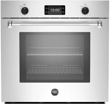 Bertazzoni MASFS30XT 30 Inch Single Electric Wall Oven Master Series Self Clean