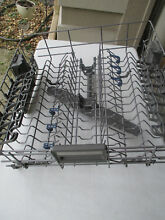 KitchenAid Kenmore Whirlpool Dishwasher Upper Top Rack Dishrack W10727422 Extras