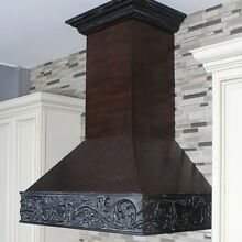 ZLINE 30 in  Wooden Wall Mount Range Hood in Antigua and Walnut   Includes 900