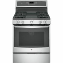 GE Profile Serious 30 inch Free Standing Gas Convection Range