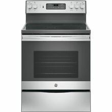 GE Free Standing Electric Convection Range  30 inches