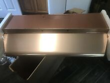Nutone Range Hood 48  Copper Anodized Aluminum Vintage New In Box 3046 Build In