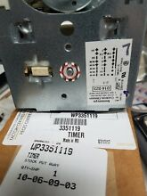 Genuine OEM 3351119 Kenmore Washer Timer WP3351119 PS341137