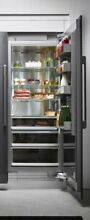 Dacor Modernist   DRR36980RAP   36  Right Hinge Column Refrigerator Panel Ready