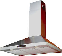 Kitchen Bath Collection 30  412 CFM Convertible Wall Mount Range Hood KBCL1079