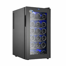 18 Bottle Thermoelectric Single Zone Freestanding Wine Cooler EECT1003