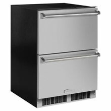 Marvel Professional Drawers 24 inch 5 cu  ft  Undercounter Refrigeration