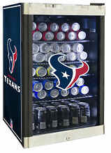 Glaros NFL 4 6 cu  ft  Beverage center Houston Texans