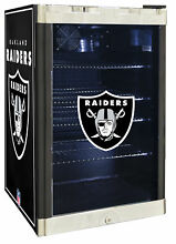 Glaros NFL 4 6 cu  ft  Beverage center Oakland Raiders