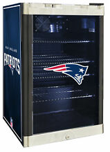 Glaros NFL 4 6 cu  ft  Beverage center New England Patriots