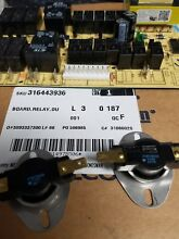 FRIGIDAIRE RANGE CONTROL BOARD   PART  316443936 and 318578506 thermostat