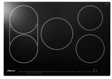 Dacor DYTT365NB Discovery 36 Inch Electric Induction Cooktop w 5 Cooking Zones