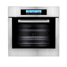 Cosmo 24  Self Cleaning Convection Electric Single Wall Oven