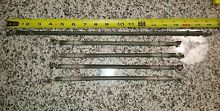 Vintage  4  11  Edwin L  Wiegand Electric heat Element Rod  1  18   lot of 5 NOS