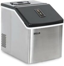 Portable Ice Maker Cube Machine 28 lbs Yield Per 24 Hours Stainless Steel New