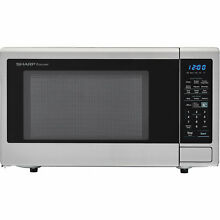 Sharp Carousel 23  1 8 cu ft  Countertop Microwave