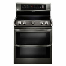 LG 7 3 cu  ft  Electric Double Oven Range ProBake Convection  EasyClean