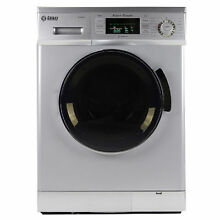Galaxy 13 lb  Convertible Washer Dryer Combo   Silver