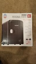 Chefman Portable Compact Personal Fridge Cools  Heats  4 Liter Capacity Chills