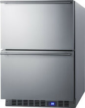 Summit 23 63 inch 3 4 cu ft  Convertible Undercounter Refrigerator