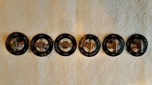 Vintage whirlpool  Gibson kitchen stove control knobs  set of 6