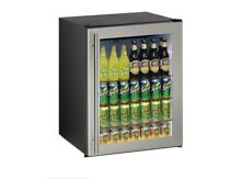 NIB U Line Stainless Steel Built In Beverage Cooler Display Refrigerator