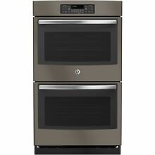 GE Slate Grey 30 inch Built In Double Wall Oven